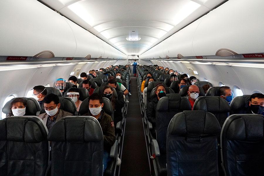 primer vuelo tras la cuarentena