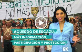 Ecuador ratificó el Acuerdo de Escazú