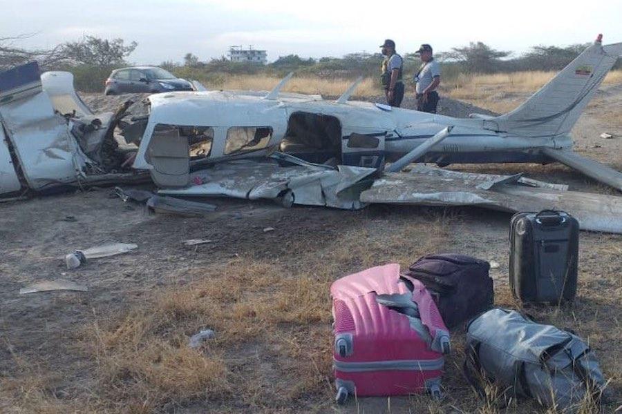 avioneta ecuatoriana se accidentó