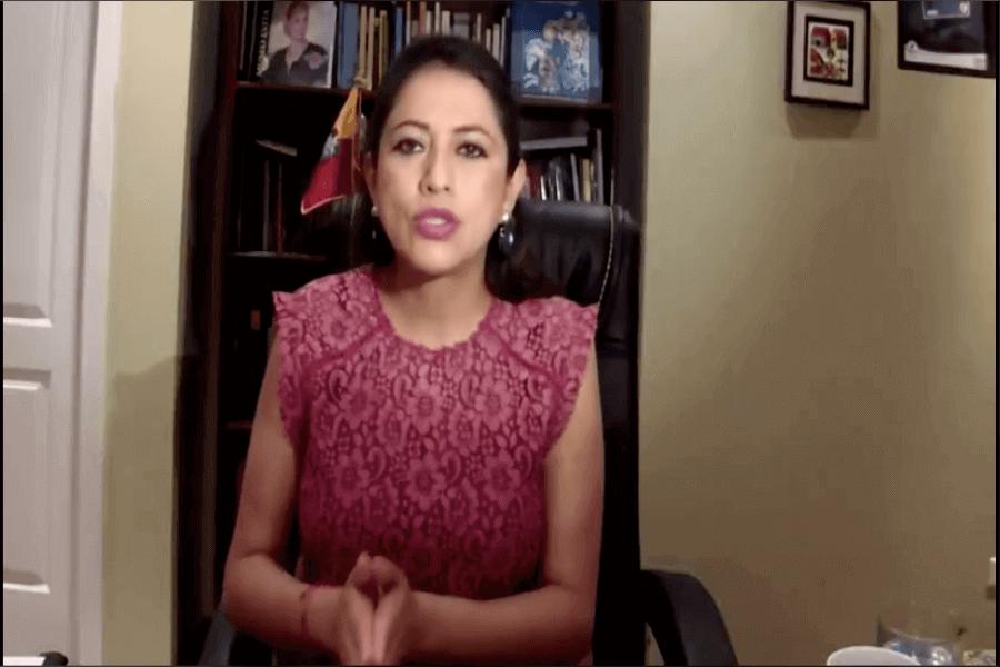 Paola Pabón es investigada por presunto peculado
