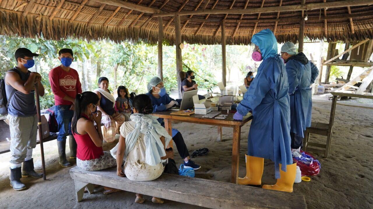 coronavirus en las nacionalidades indígenas de Ecuador