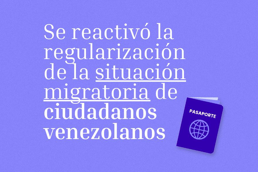 regularización de ciudadanos venezolanos en Ecuador