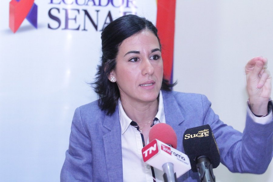 María Alejandra Muñoz, nueva vicepresidenta