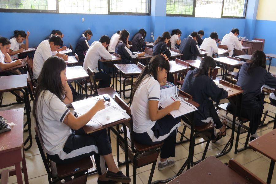 examen para entrar a la universidad