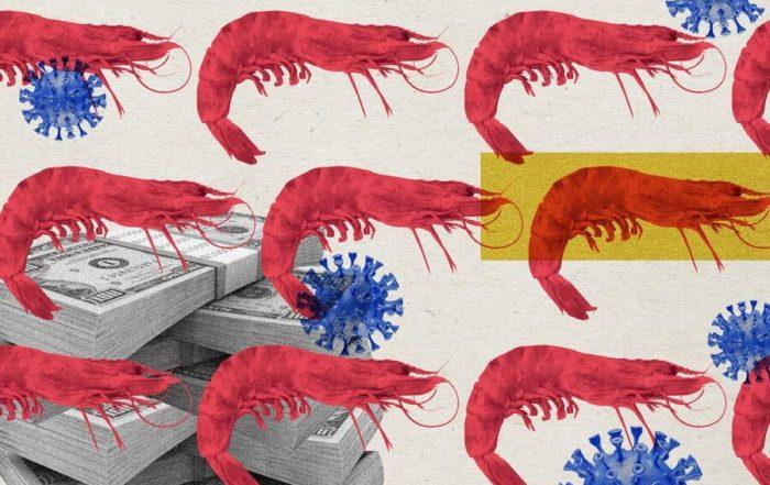 camarón ecuatoriano en China