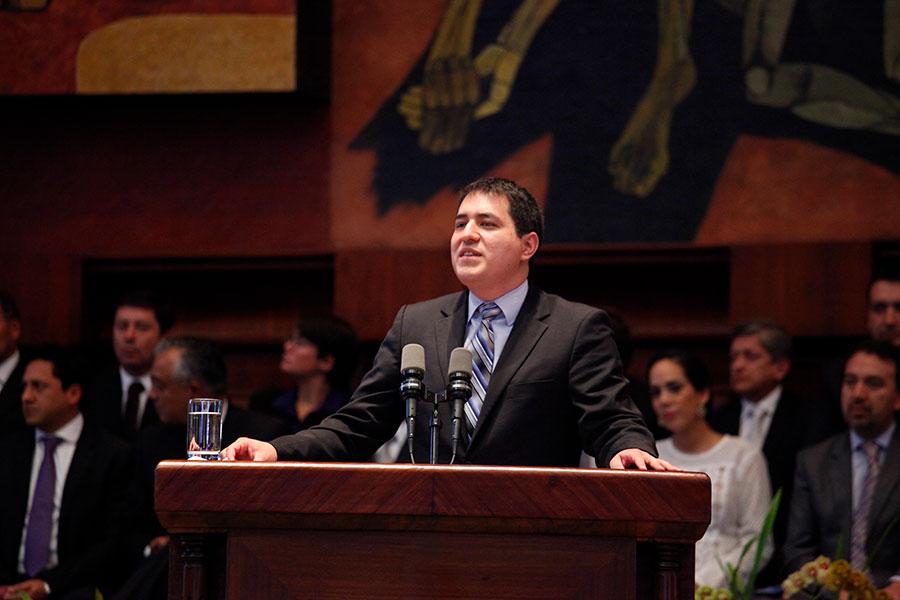 candidatura de Rafael Correa a la Vicepresidencia