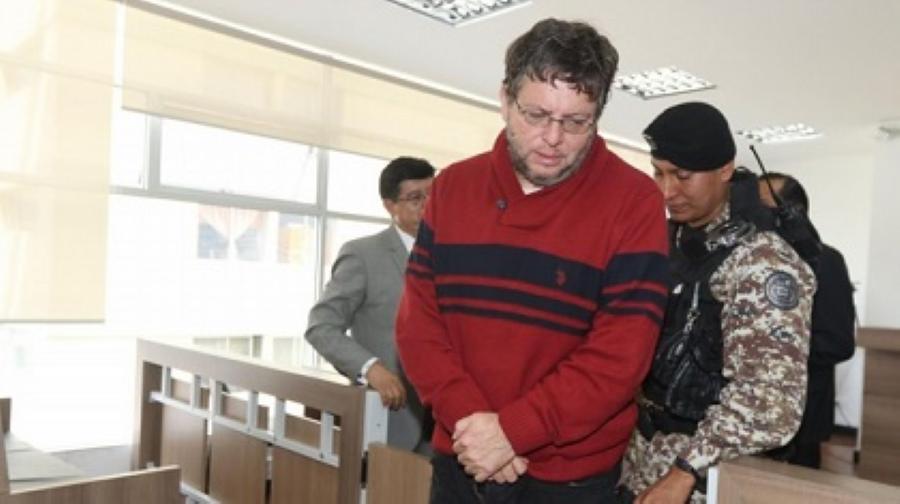 Alecksey Mosquera salió en libertad tras acogerse a régimen semiabierto