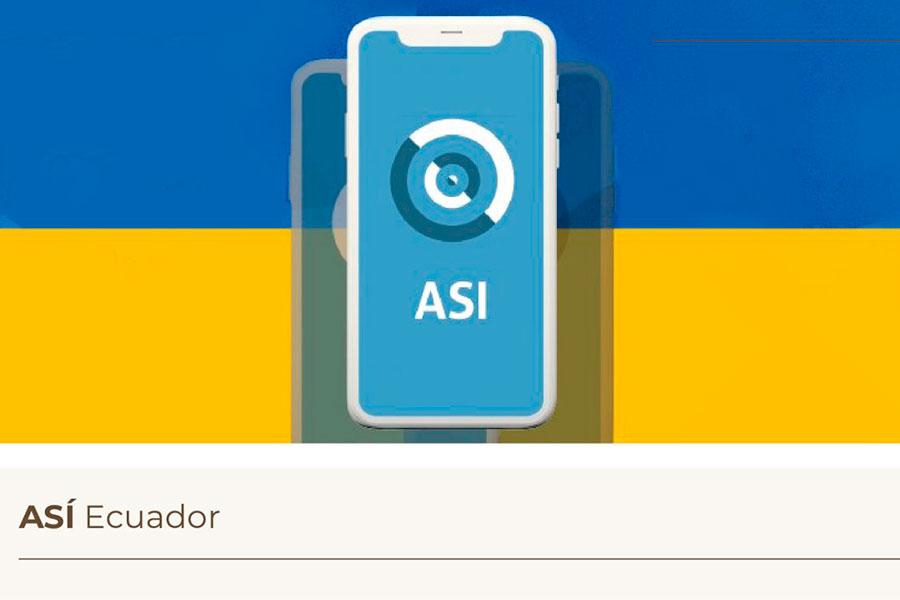 aplicación para alertar contagios de covid-19 en Ecuador