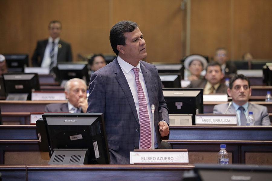 Asamblea investigará a Eliseo Azuero