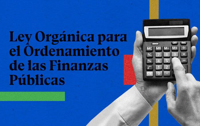 ley de las finanzas públicas del Ecuador