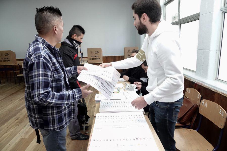 : precandidatos a la presidencia de Ecuador