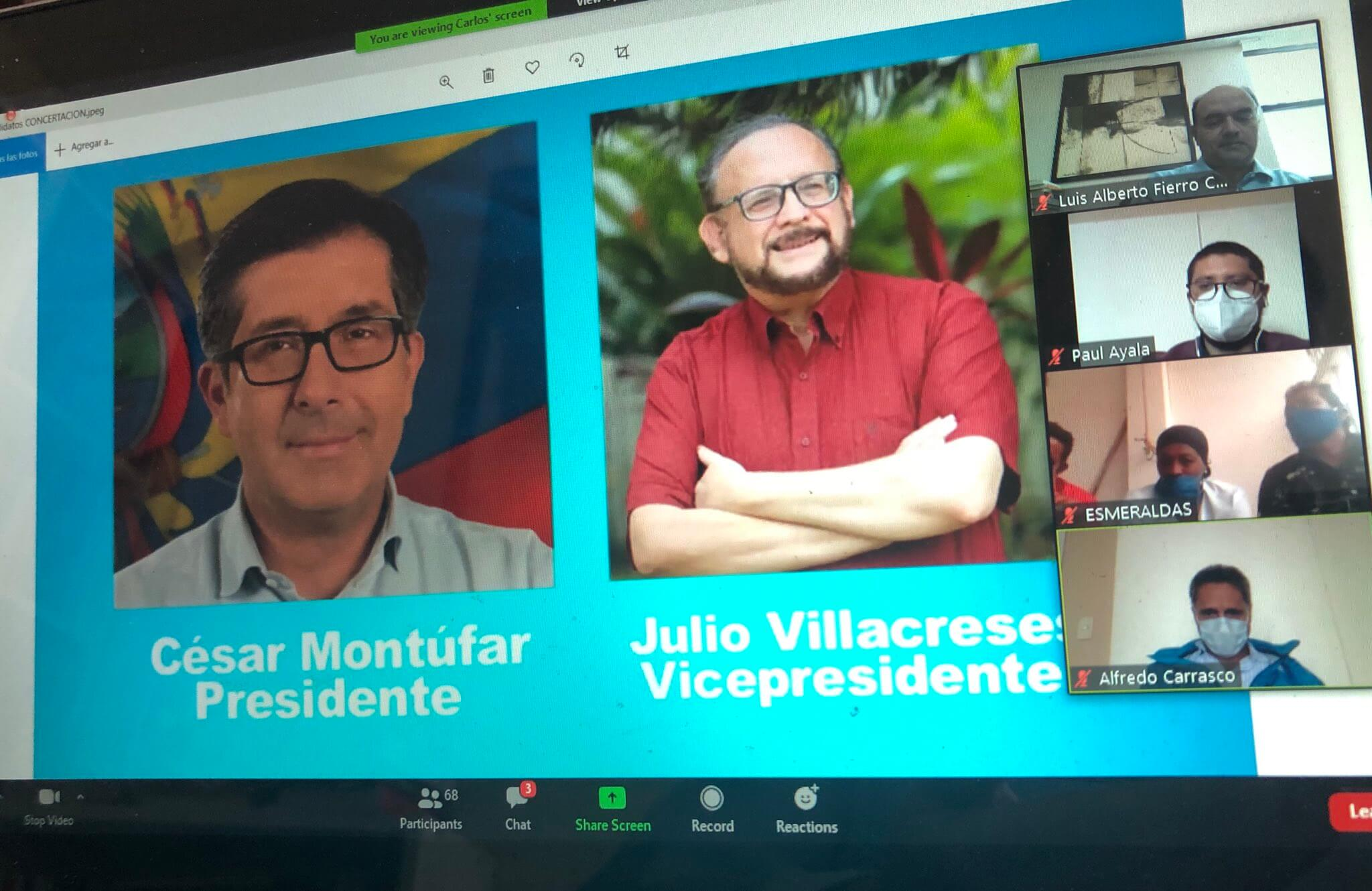Quién es Julio Villacreses