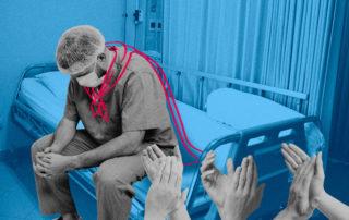 médicos, héroes sin capa y sin sueldo