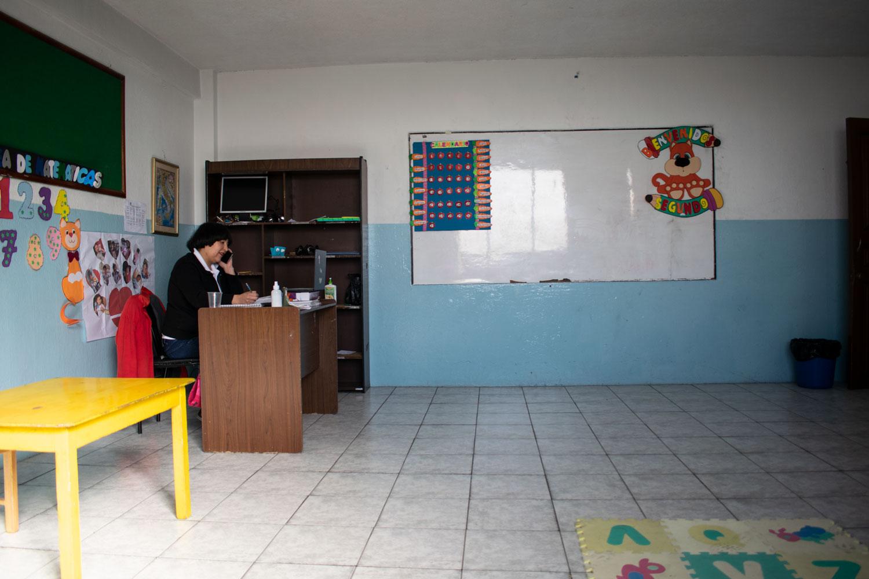 profesores en clases virtuales