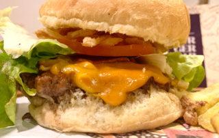 Hamburguesa Lab Bourbon de Burger Lab