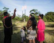 mecheros en la Amazonía
