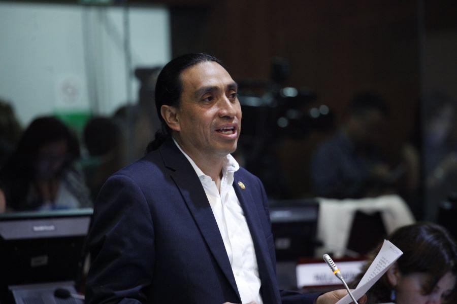 detención a Virgilio Hernández