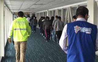 ecuatorianos deportados en pandemia