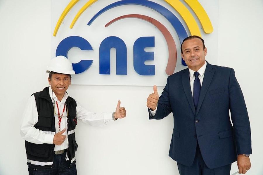 Juan Carlos Machuca candidato a la presidencia