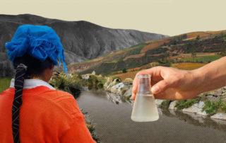 contaminación fecal en agua de comunidades de Imbabura