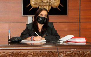 Alexandra Ocles será sometida a la justicia ordinaria
