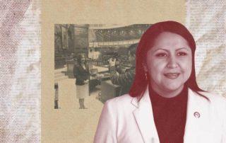 Justin Pincay Pazmiño le escribe una carta abierta a la candidata por Alianza País, Ximena Peña. Ilustración de Gabriela Valarezo para GK.