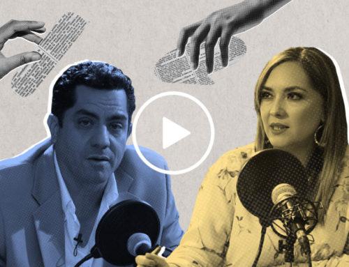 """Xavier Hervas: """"Yo no vengo de una trayectoria política ni tengo militancia en un partido""""."""