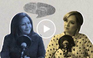 Entrevista a Ximena Peña, candidata presidencial de Alianza País. Ilustración de Gabriela Valarezo para GK.