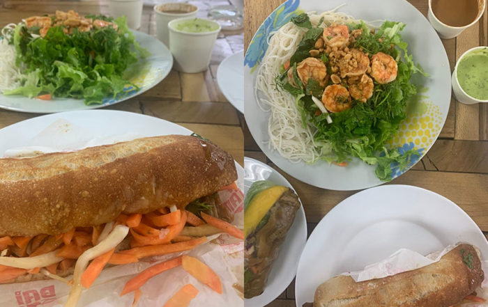 Bai Taim es un restaurante que sirve comida vietnamita, dirigido por una chef china que aprendió a hacer los bánh mis en Canadá.
