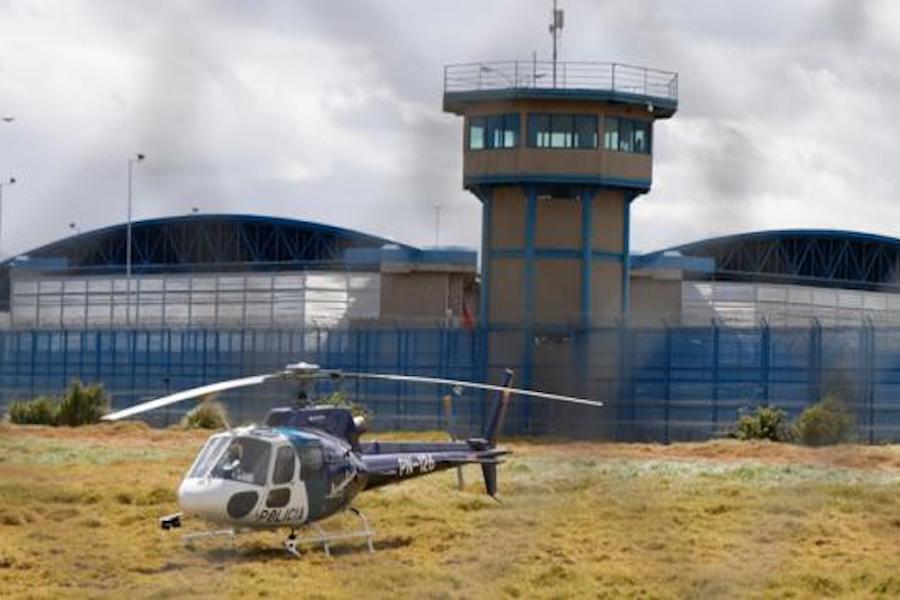 nuevo amotinamiento en la cárcel de Cotopaxi