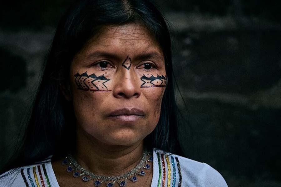 lideresa indígena