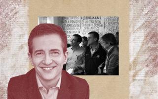 María Cristina Bayas le escribe una carta abierta al candidato presidencial Pedro José Freile. Ilustración de Gabriela Valarezo para GK.