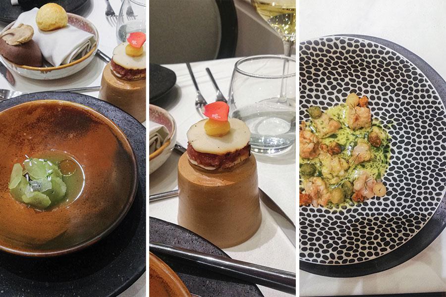 menu degustacion nuema