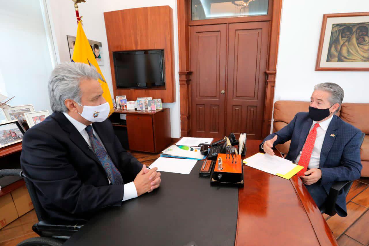 Ecuador firmó acuerdo con Pfizer