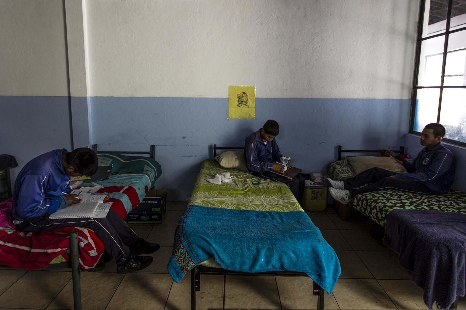 centro de detención para menores en Quito