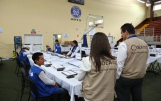misión de la OEA supervisará elecciones