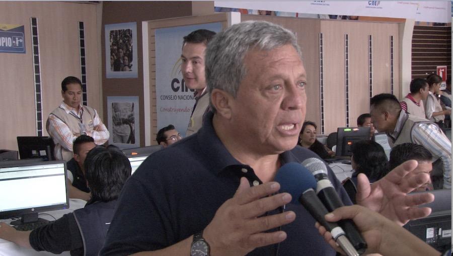 grafotécnico Carlos Echeverría