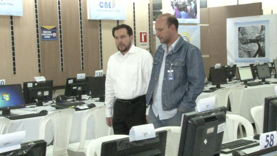 Paúl Salazar, vicepresidente del CNE