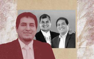 Matthew Carpenter-Arévalo le escribe una carta abierta al candidato por UNES, Andrés Arauz. Ilustración de Paula De la Cruz para GK