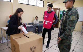 votar con cédula de identidad caducada