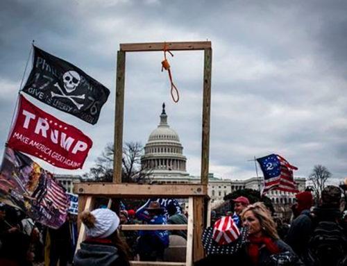 Hijo de líder de la secta Moon involucrado en protesta contra el Congreso de Estados Unidos