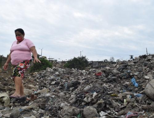 El barrio que creció sobre la basura