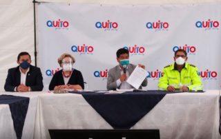 nuevas medidas en Quito por pandemia