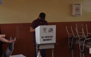 certificado provisional de votación