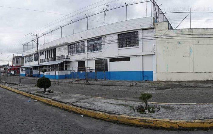 crisis de las cárceles en Ecuador