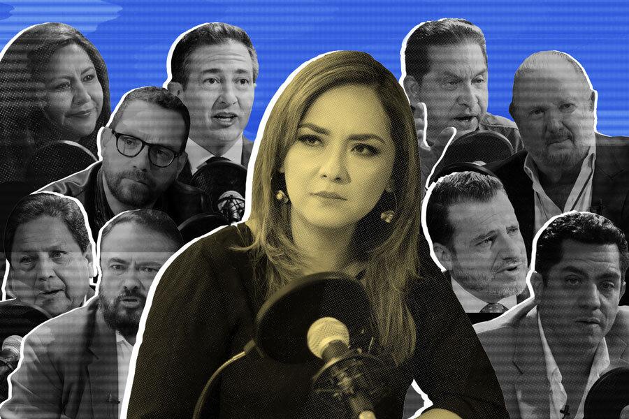 ¿Cómo son los candidatos presidenciales tras cámaras? Ilustración de Paula de la Cruz para GK.