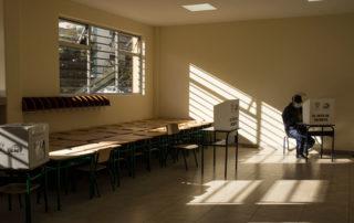 fotos de las votaciones