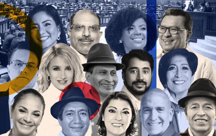 Los nuevos asambleístas: quiénes son y de dónde vienen. Ilustración de Paula de la Cruz para GK.