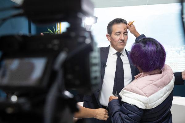 Pedro Freile es el candidato presidencial por AMIGO. Fotografía de Eduardo Naranjo para GK.