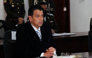 Patricio Pazmiño renunció